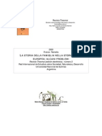 Franco Ramella Historia de La Familia en La Historiografía Europea