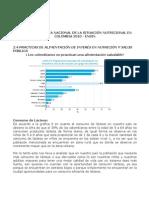 Analisis Encuesta Nal de La Situación Nutricional Colombia