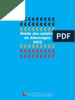 Guide Des Salaires en Allemagne