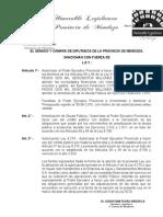 Ley 8816 - Endeudamiento