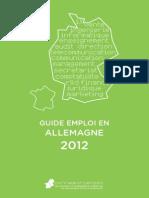 Guide de l'Emploi en Allemagne