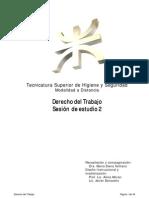 Derecho del Trabajo - Sesión de estudio 2