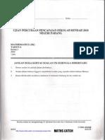 2010-PERCUBAAN Maths UPSR+Skema [PAHANG]
