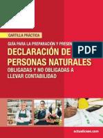 CP 06 2014.Declaracion Renta Pn Ag2013