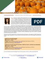 Newsletter - October 2015