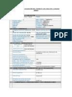 Parámetros y Ecuación Del Puente Los Chilcos 2 Aguas Abajo