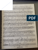 Michael Brecker's notebook