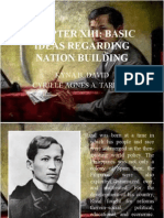 Chapter 13 (Basic Ideas Regarding Nation Building) (Kyna b. David, Cyrille Agnes a. Tarroja)
