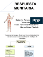 Respuesta Inmune Humoral y Celular