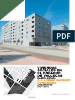 Proyecto Viviendas Sociales en El Ensache de Vallecas - ARKINKA 210