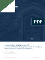 PS Convertible Bond Arbitrage 081312
