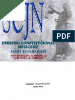 Derecho Constitucional Mexicano Felipe Tena Ramirez.pdf