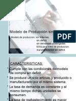 Modelo de Producción Sin Escasez f