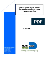 Miami-Dade Co. Emergency Management Plan