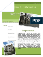Antigua Guatemala, un viaje para todo mundo.