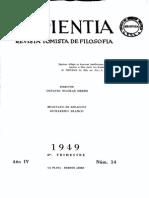 Revista Sapientia14, Finalidad de Criatura Intelectual