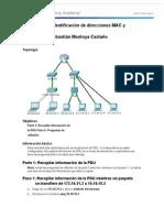 5 1 4 4 Packet Tracer Identificacion de Direcciones MAC y IP