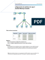 5 3 3 5 Packet Tracer Configuracion de Switches de Capa 3