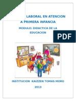 Modulo Didactica Educacion Inicial (1) Tarabajo de Marcela No Borrar
