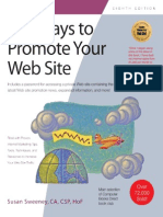101 Ways to Promote Your Web S - Susan Sweeney CA Csp Hof