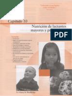 Capitulo 10 Nutricion de Lactantes Capitulo 10 Nutricion de Lactantes Mayores y Preescolares