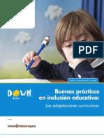 Buenas Prácticas en Inclusión Educativa Las Adaptaciones Curriculares