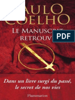 Le Manuscrit Retrouve (French Edition) - Paulo Coelho.pdf