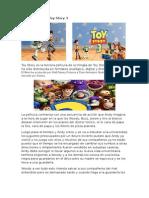 Reseña Película Toy Story 3