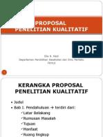 Sesin 7 Proposal