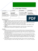 gopher skill assessment unit 1 -4-5 - rhythm   dance jump rope tinikling