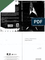 O Ódio à Democracia (Jacques Rancière)