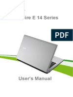 User's Manual Acer E14 Series