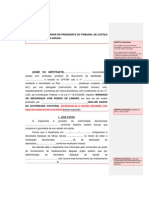 Modelo Mandado de Segurança Individual Prof. Alexandre Figueiredo