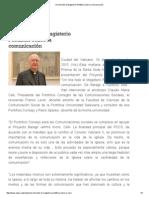 On Line Todo El Magisterio Pontificio Sobre La Comunicación