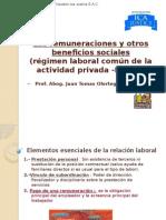Las Remuneraciones y Otros Beneficios Sociales J Olortegui N