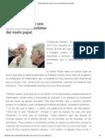 El Papa Habla Casi Una Hora Con Los Periodistas Del Vuelo Papal