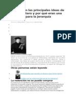 Cuáles Son Las Principales Ideas de Martín Lutero y Por Qué Eran Una Amenaza Para La Jerarquía Católica