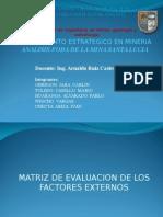 Analisis de La Matriz Foda Mina Santa Lucia.ppt