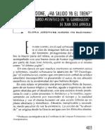 Analisis de El Guardagujas, Josephine Hiroko