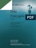 Libreto Doña Francisquita