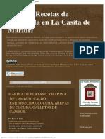 Cocina y Recetas de Venezuela en La Casita de Maribri_ AREPA
