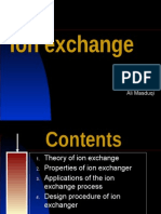 3. Ion Exchange