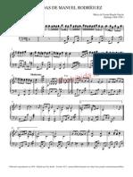 Tonadas de Manuel Rodriguez - Partitura y Letra