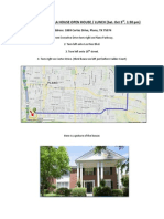 Directions to Bella House Open House.