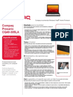 Compaq Presario Cq40 305la Especificaciones