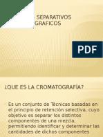 métodos de separacion cromatograficos