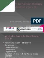 Cognitive Behaviour Therapy Whiplash Justinkenardy ACHRF 2011