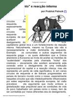 PATNAIK_Desligamento_ e Reacção Interna