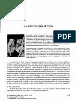 La sematologia de Vico, Trabant