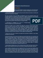 Valuable Principles on Port Management, Ramesh Shivakumaran